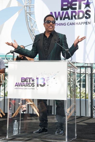 93a81baf9669 Charlie Wilson Photos Photos - Celebs at the BET Awards Press ...