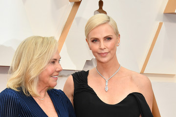 Charlize Theron Adam Driver 92nd Annual Academy Awards - Arrivals