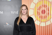 Amy Schumer attends the Africa Outreach Project Fundraiser hosted by Charlize Theron at The Africa Center on November 12, 2019 in New York City.