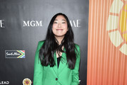 Awkwafina attends the Africa Outreach Project Fundraiser hosted by Charlize Theron at The Africa Center on November 12, 2019 in New York City.