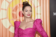 Demi-Leigh Nel-Peters attends the Africa Outreach Project Fundraiser hosted by Charlize Theron at The Africa Center on November 12, 2019 in New York City.