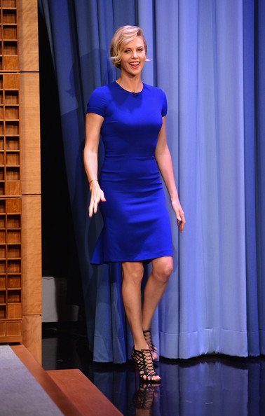 Charlize Theron - Stars Stop by 'The Tonight Show'