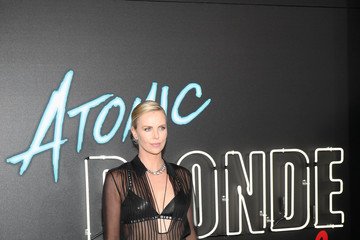 Charlize Theron Stoli Vodka And Universal Studios Host Premiere Of 'Atomic Blonde'