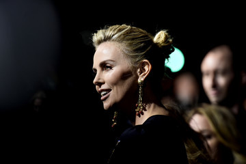 Charlize Theron Premiere Of Focus Features' 'Tully' - Arrivals