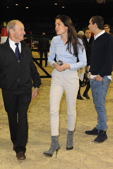 Charlotte Casiraghi Alex. Alex Dellal and Charlotte
