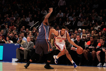 Derrick Brown Charlotte Bobcats v New York Knicks