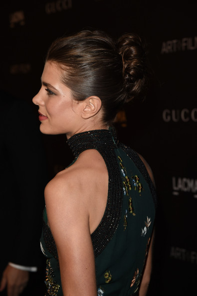 Charlotte Casiraghi - 2014 LACMA Art + Film Gala Honoring Barbara Kruger And Quentin Tarantino Presented By Gucci - Red Carpet