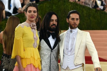 Charlotte Casiraghi Alessandro Michele 'Manus x Machina: Fashion in an Age of Technology' Costume Institute Gala