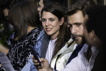 Charlotte Casiraghi Alter Design : Front Row - Paris Fashion Week - Menswear Spring/Summer 2020