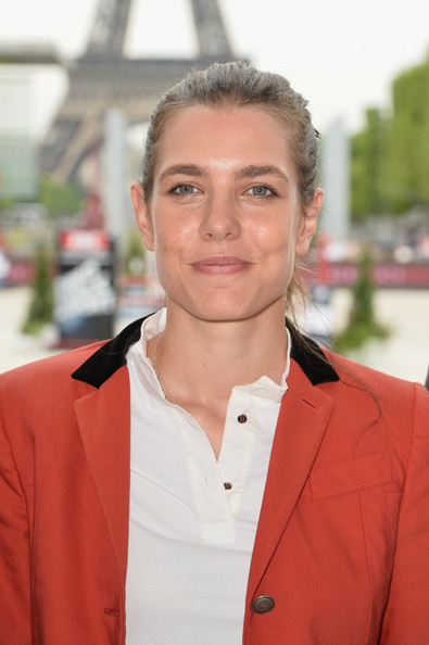 Charlotte Casiraghi Charlotte Casiraghi attends the Paris Eiffel Jumping presented by Gucci at Champ-de-Mars on July 4, 2014 in Paris, France.