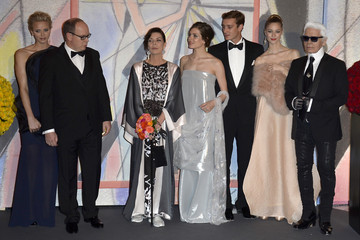 Charlotte Casiraghi Prince Albert Ii Rose Ball 2014 In Aid Of The Princess Grace Foundation In Monaco