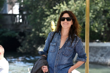 Charlotte Gainsbourg Celebrity Sightings - Day 5 - The 78th Venice International Film Festival