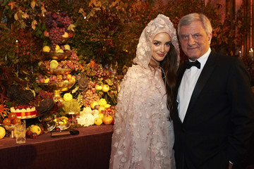 Charlotte Le Bon Dior Ball: Party in Madrid