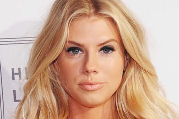 Charlotte McKinney Herve Leger By Max Azria - Backstage - Spring 2016 New York Fashion Week: The Shows