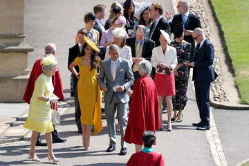 Charlotte Riley Prince Harry Marries Ms. Meghan Markle - Procession