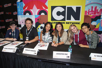Charlyne Yi Cartoon Network and Adult Swim at Comic Con NY 2016