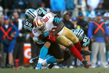 Chase Blackburn Divisional Playoffs - San Francisco 49ers v Carolina Panthers