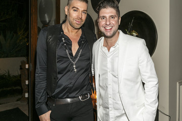 Chaz Dean Courtney Knowles Chaz Dean Holiday Party Benefiting Love Is Louder