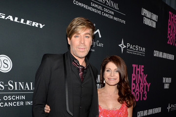 Chaz Dean Joanne Ferra Elyse Walker Presents The Pink Party 2013 Hosted By Anne Hathaway - Red Carpet