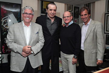 Chazz Palminteri Chris Russo and Mike Francesa of 'Mike and the Mad Dog' Get Together for SiriusXM Town Hall
