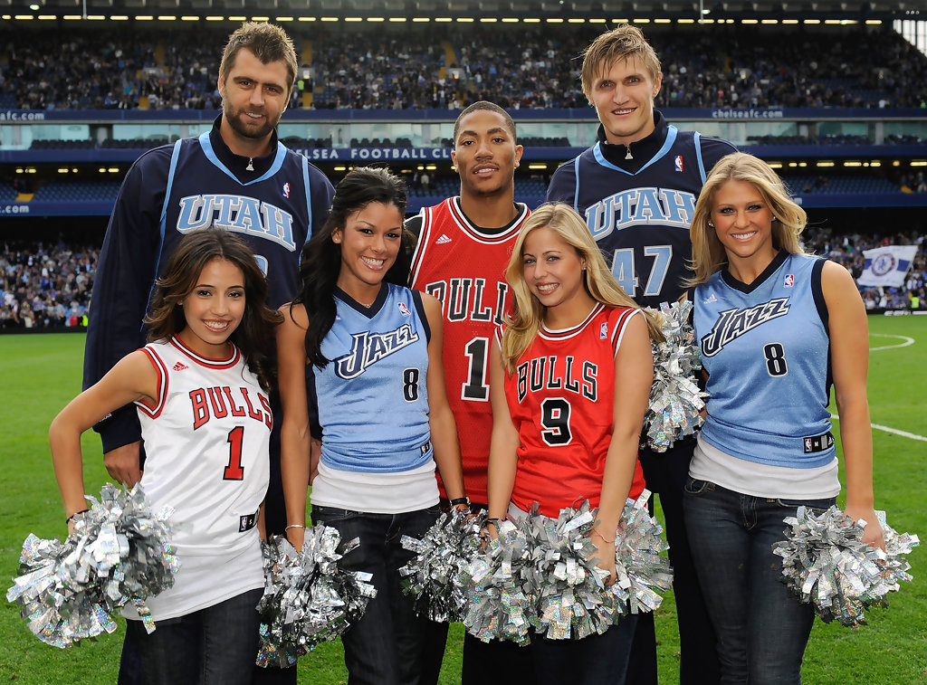 Nba cheerleaders dating players