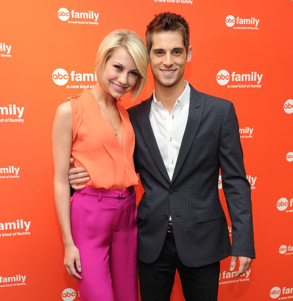 Chelsea Kane Actress Chelsea Kane and actor Jean-Luc Bilodeau attend the 2012 ABC Family Upfront at the Mandarin Oriental Hotel on March 19, 2012 in New York City.