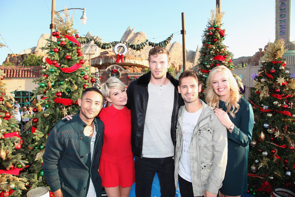 Chelsea Kane Photos Photos - Disney Parks' 'Frozen' Christmas ...