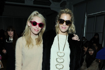Chelsea Leyland Karen Walker - Front Row - Fall 2013 Mercedes-Benz Fashion Week