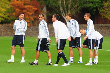 Ricardo Carvalho Sam Hutchinson Chelsea Training & Press Conference