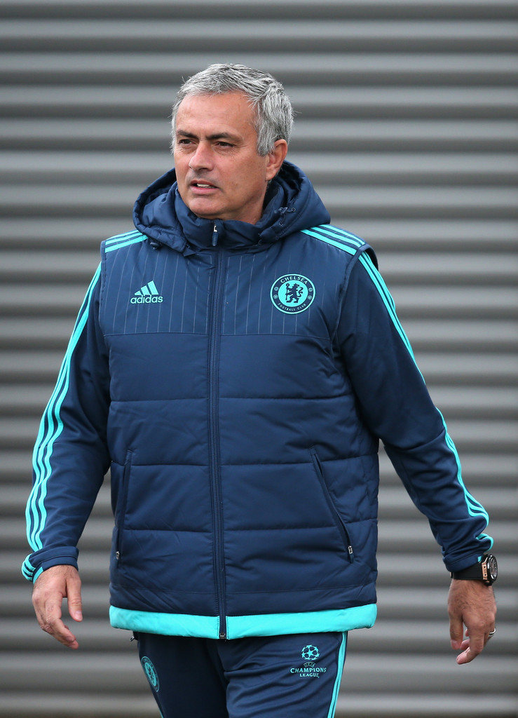 Jose mourinho chelsea 2018 training