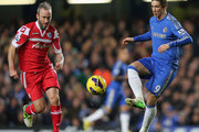 Fernando Torres Shaun Derry Photos Photo