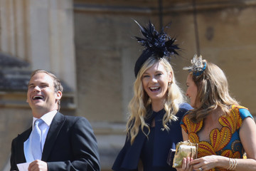 Chelsy Davy Prince Harry Marries Ms. Meghan Markle - Windsor Castle