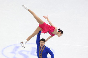 Cheng Peng ISU Four Continents Figure Skating Championships 2015 - Day One