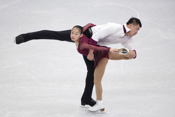 Cheng Peng ISU Four Continents Figure Skating Championships 2015 - Day Three