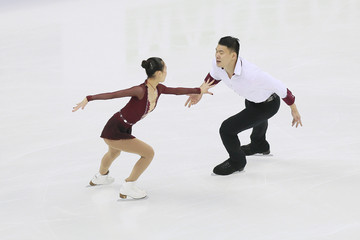 Cheng Peng 2015 Shanghai World Figure Skating Championships - Day 2