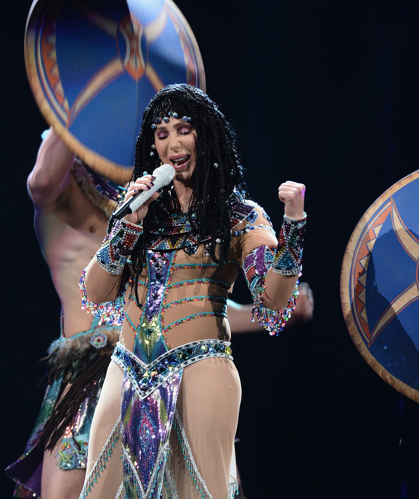 Cher In Cher In Concert Brooklyn Ny Zimbio