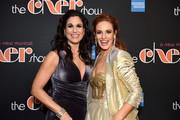 "Stephanie J. Block (L) and Teal Wicks pose at ""The Cher Show"" Broadway Opening Night - After Party at Pier 60 on December 03, 2018 in New York City."
