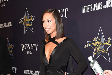 Cheryl Burke 8th Annual Hollywood Domino Gala Presented By BOVET 1822 Benefiting Artists For Peace And Justice
