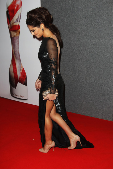 Cheryl Cole (UK TABLOID NEWSPAPERS OUT) Cheryl Cole attends The Brit Awards 2011 held at The O2 Arena on February 15, 2011 in London, England.