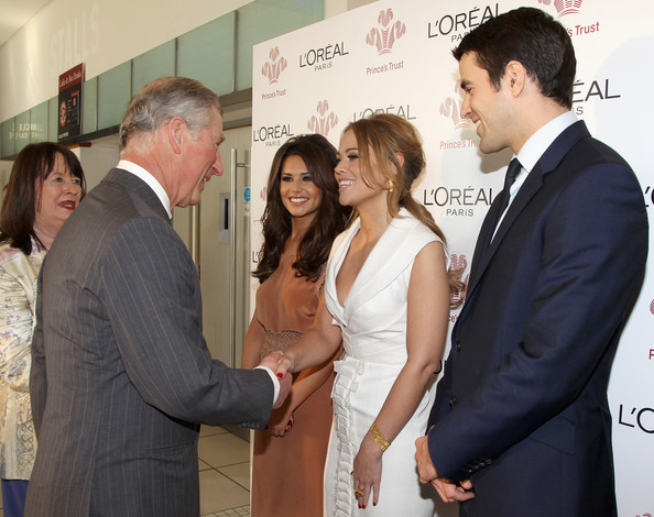 Cheryl Cole Cheryl Cole, Kimberley Walsh and Steve Jones meet Prince Charles, Prince of Wales during The Prince's Trust Celebrate Success Awards at Odeon Leicester Square on March 23, 2011 in London, England.