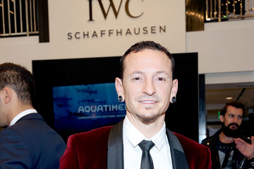 Chester Bennington IWC Launches The Aquatimer Edition Sharks With Special Guests Michael Mueller And Taschen