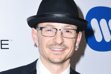 Chester Bennington Warner Music Group GRAMMY Party - Red Carpet
