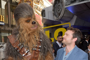 Chewbacca Premiere Of Disney Pictures And Lucasfilm's 'Solo: A Star Wars Story' - Red Carpet