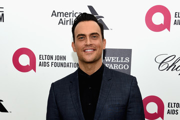 Cheyenne Jackson Arrivals at the Elton John AIDS Foundation Oscars Viewing Party — Part 3