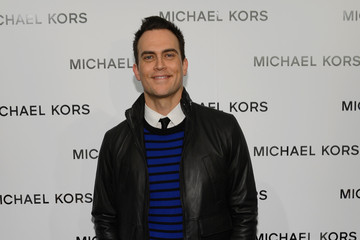 Cheyenne Jackson Michael Kors - Backstage - Fall 2013 Mercedes-Benz Fashion Week