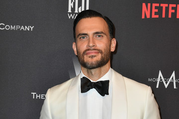 Cheyenne Jackson 2017 Weinstein Company and Netflix Golden Globes After Party - Arrivals