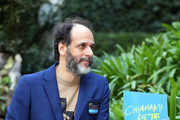 Italian director Luca Guadagnino attends 'Chiamami Col Tuo Nome (Call Me By Your Name)' photocall at De Russie Hotel on January 24, 2018 in Rome, Italy.