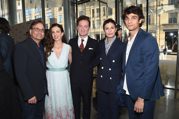 Max Mara, Presenting Sponsor, Celebrates The Opening Of The Whitney Museum Of American Art - Arrivals [presenting sponsor celebrates the opening of the whitney museum of american art,people,social group,event,white-collar worker,suit,formal wear,management,smile,businessperson,team,arrivals,chiara clemente,rajan mamtani,tyler thompson,ross bleckner,location,max mara,sponsor,alba clemente]