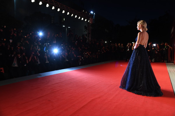 'Chiara Ferragni - Unposted' Red Carpet Arrivals - The 76th Venice Film Festival [fashion,dress,clothing,runway,carpet,red carpet,gown,haute couture,flooring,event,chiara ferragni,unposted,screening,red carpet arrivals - the 76th venice film festival,venice film festival at sala giardino,venice,italy]
