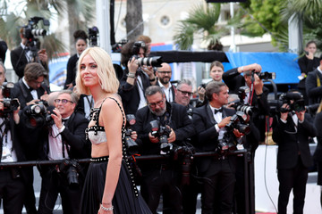 Chiara Ferragni 'Once Upon A Time In Hollywood' Red Carpet - The 72nd Annual Cannes Film Festival